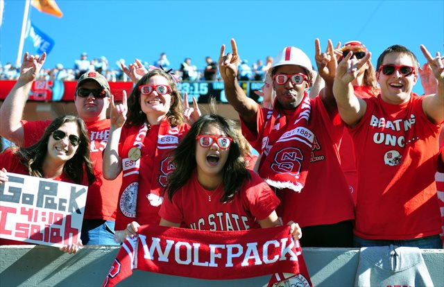 NC State fans will get an up-close look at SEC competition in 2020. (USATSI)