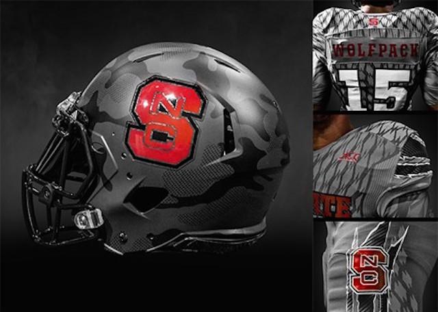 Black Knights Logo Design NC State to wear 'Iron...