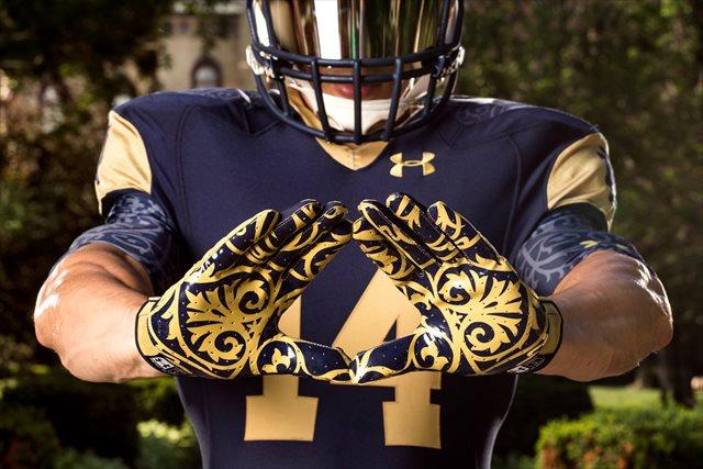 PHOTOS  Notre Dame unveils 2014 uniforms b2dd1b834