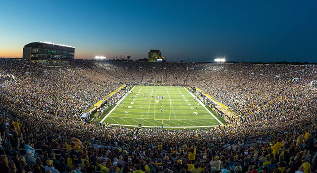 Notre Dame has plans for a $400 million renovation on its stadium. (USATSI)