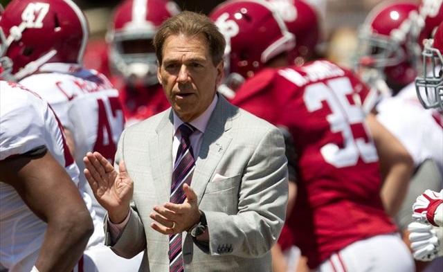 Can Nick Saban get Alabama back to the national championship game? (USATSI)