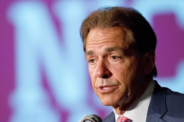 Nick Saban did not establish a timetable for the return of his three suspended players. (USATSI)