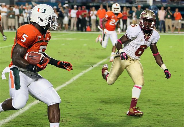 Florida State corner Nick Waisome took down a burglar at his apartment. (USATSI)
