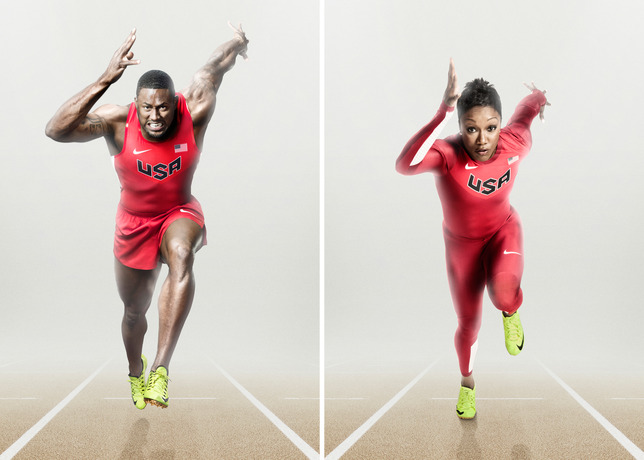 best website d5325 1c9b3 And the answer is ... well, judging by these Nike promotional shots  featuring Allyson Felix, Carmelita Jeter, and hurdler David Oliver, they re  kinda cool