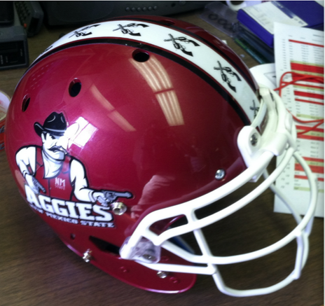 Photos New Helmets For New Mexico State Cbssports Com