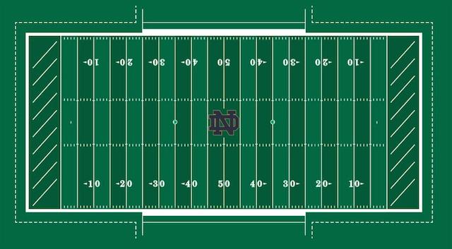 Notre Dame Stadium FieldTurf design