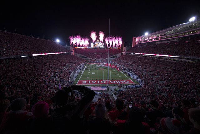 Ohio Stadium hosts Virginia Tech Saturday night. (USATSI)