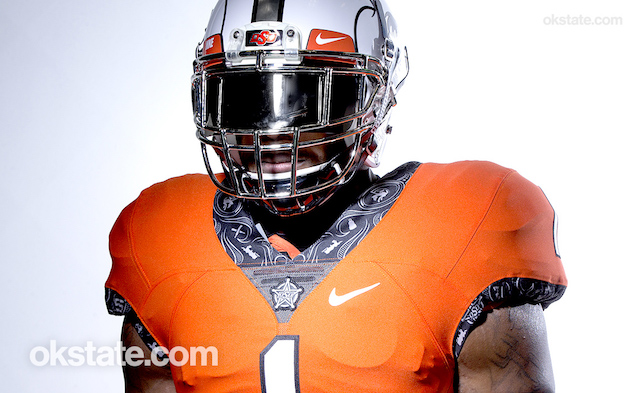 LOOK  You ve got to see these sharp new Oklahoma State uniforms ... 18d89b02f