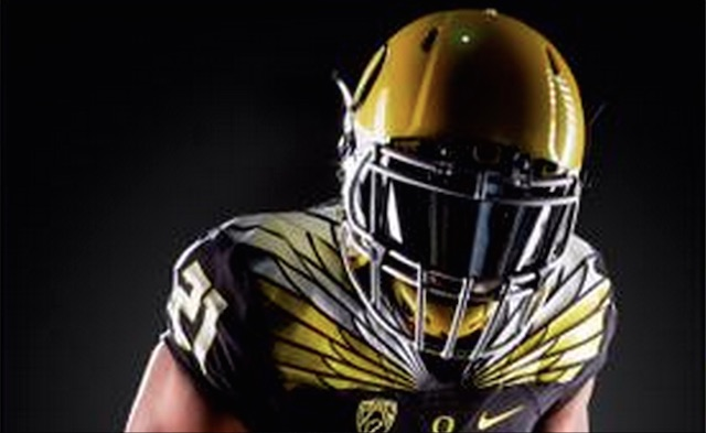 LOOK Oregon Sporting Sweet Black And Yellow Uniforms For Opener