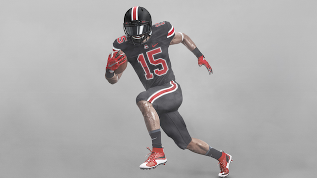 ohio state football game jersey