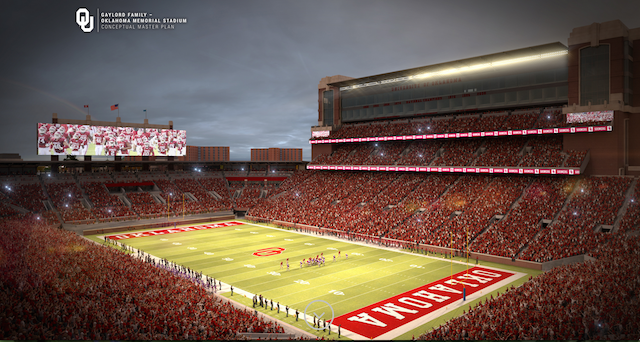 PHOTOS: Oklahoma regents approve stadium renovation ...