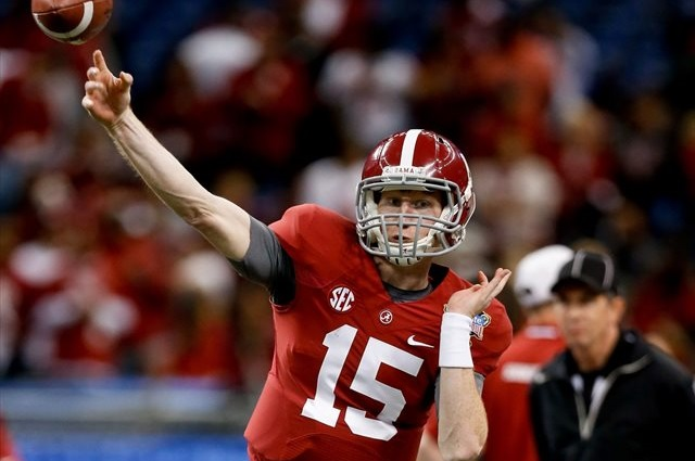 Parker McLeod warms up before the 2014 Sugar Bowl. (USATSI)