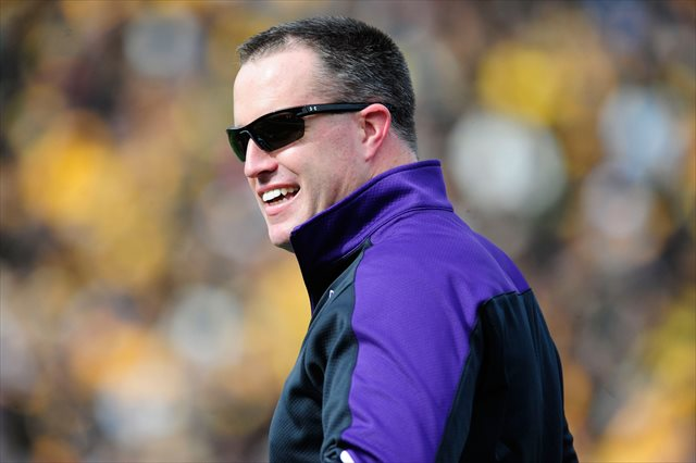 Pat Fitzgerald's Wildcats take on Cal on Aug. 30. (USATSI)
