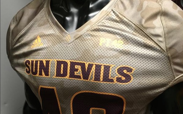 sports shoes 8c29b 1f92e LOOK: Pat Tillman practice jersey part of Arizona State ...