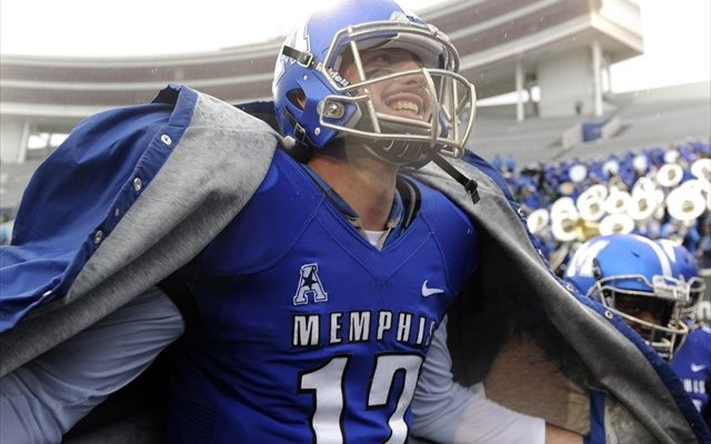 Things were looking up for Paxton Lynch against SMU. (USATSI)