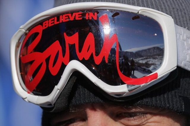 Canadian ski coach Trennon Paynter remembers Sarah Burke at the 2012 X-Games. (Getty Images)