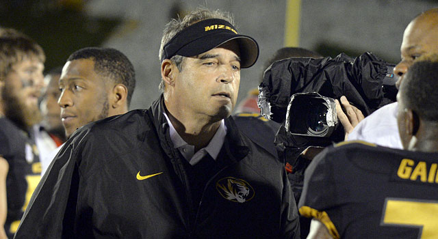 Gary Pinkel has cooled his hot seat ranking to a 1.0. (USATSI)