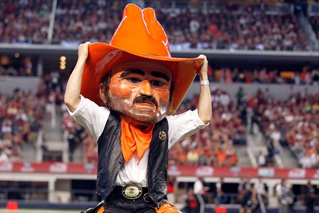 Pistol Pete has been used at Oklahoma State since the 1920s. (USATSI)