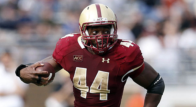 Boston College's Andre Williams is the nation's leading rusher. (USATSI)