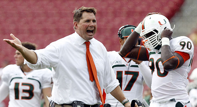 One NFC personnel exec said Miami's Al Golden is 'sharp guy'. (USATSI)
