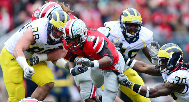 Ohio State vs. Michigan will be a huge game at the end of the year. (USATSI)