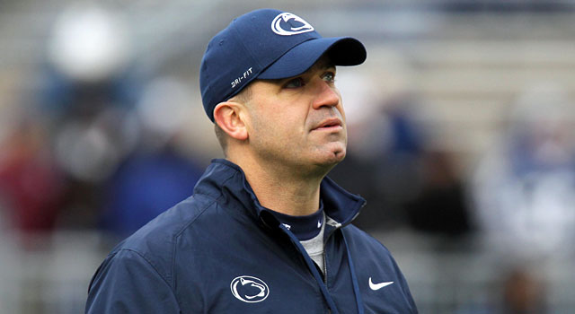 Bill O'Brien was 8-4 last season and 6-5 this year at Penn State. (USATSI)