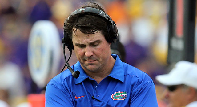 Another rough season for Will Muschamp and the Gators. (USATSI)