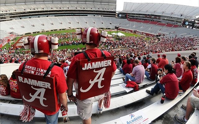 Alabama fans have helped make the Tide one of the nation's wealthiest programs. (USATSI)