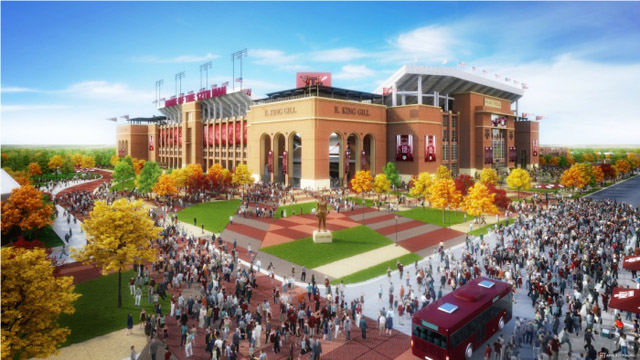The new Kyle Field could be one of the largest college football stadiums in the country. (TexAgs.com)
