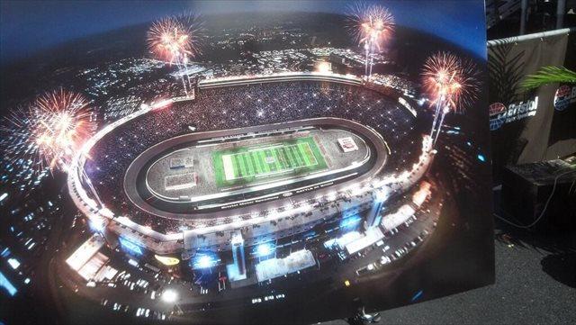 Virginia tech vs tennessee at bristol motor speedway in 2016 for Football game at bristol motor speedway