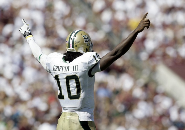 promo code 347f0 81e75 Bronze Robert Griffin III statue to be unveiled at McLane ...