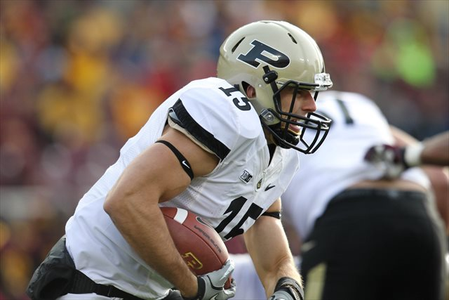 Rob Henry led the Boilermakers in both passing and rushing in 2010. (USATSI)