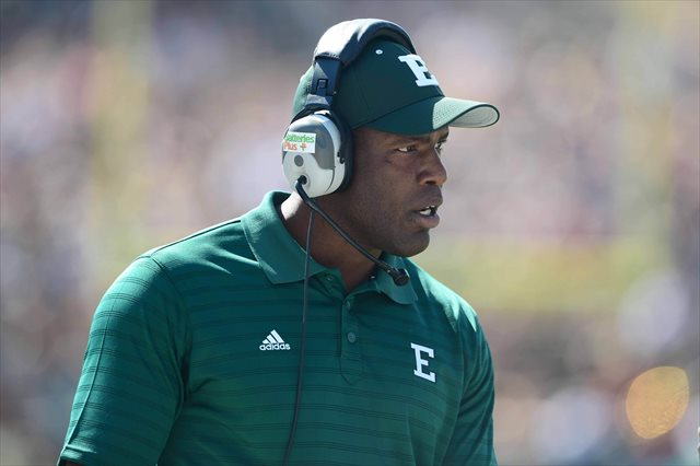 Ron English was fired Friday, a day before his team faces Western Michigan. (USATSI)