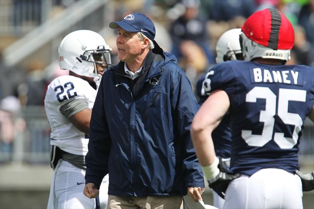 Ron Vanderlinden had coached at Penn State since 2001. (USATSI)