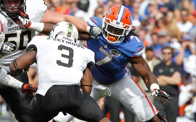 Ronald Powell led Florida in sacks in 2013. (USATSI)