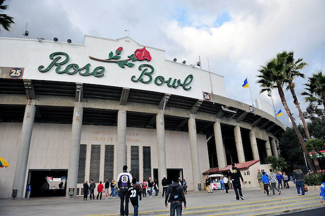 The Rose Bowl will host UCLA and Oklahoma in 2019