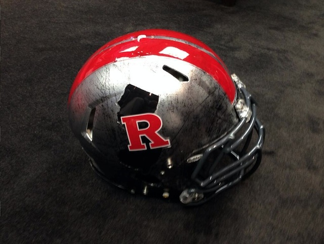 Rutgers will wear these helmets against Temple this week