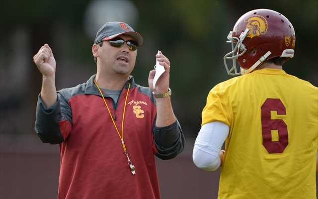 Steve Sarkisian said Cody Kessler has enjoyed a good spring. (USATSI)