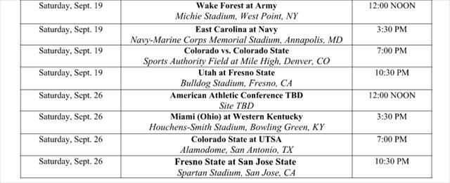 college football schedule 2015 college football scores cbs