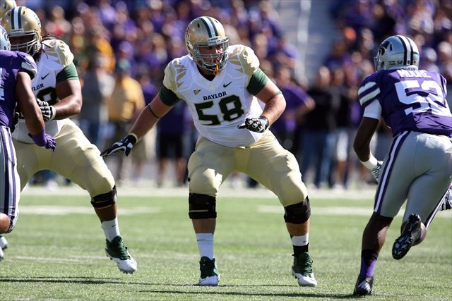 Spencer Drango has started 22 straight games for Baylor. (USATSI)