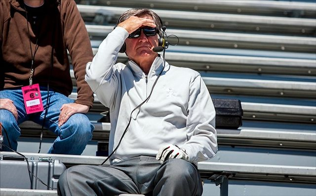 Steve Spurrier liked what he saw at South Carolina's pro day, but wanted ESPN viewers to see it, too. (USATSI)