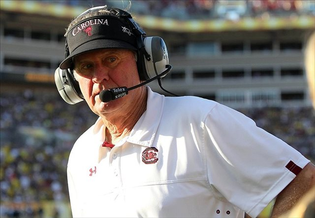 Does Steve Spurrier have another potential SEC East contender coming this fall? (USATSI)