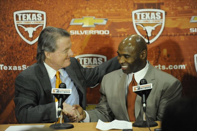 The Charlie Strong era has begun by bringing a Longhorn home. (USATSI)