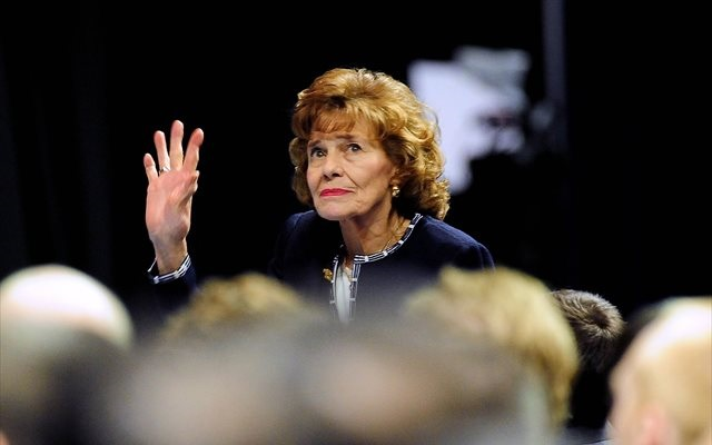 Sue Paterno was attending a memorial service on the Penn State campus. (USATSI)