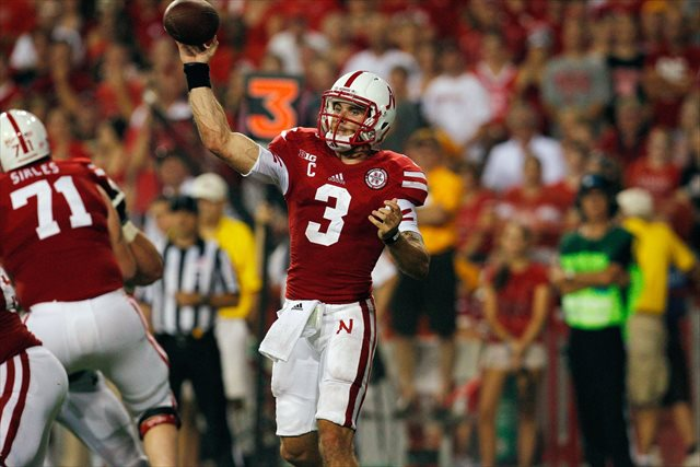 Taylor Martinez will likely sit out the Huskers' game vs. South Dakota State. (USATSI)