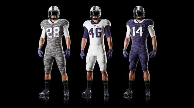 LOOK  TCU unveils new frog-skin inspired uniforms - CBSSports.com 502616e80