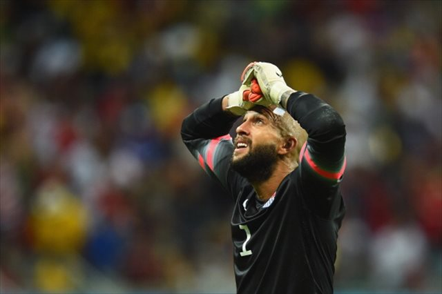Tim Howard put on the defining performance of his career Tuesday. (Getty Images)