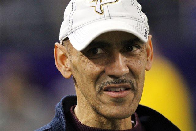 Tony Dungy says he won't be USC's next head coach. (USATSI)