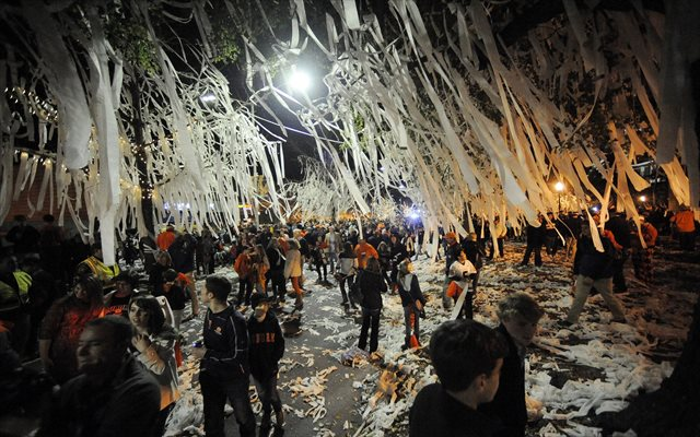 Auburn fans will worry about the BCS tomorrow ... even if their AD won't. (USATSI)