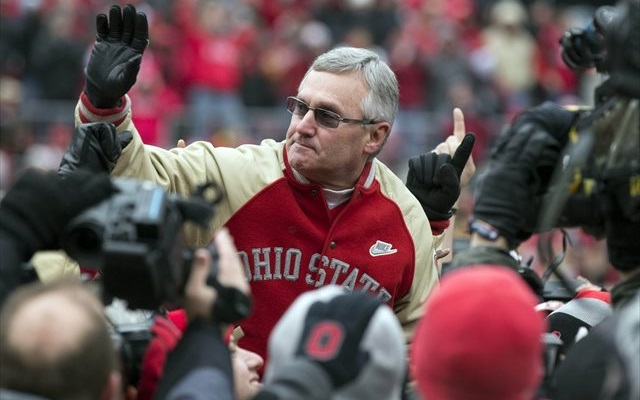 Jim Tressel didn't have to wait long for his Hall of Fame call. (USATSI)